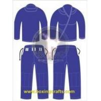 Buy cheap BJJ GI BLUE BJJ GOLD WEAVE UNIFORM product