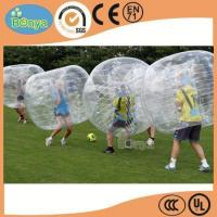 Buy cheap Hot Selling Human Sized Soccer Bubble Ball/Inflatable Bumper Ball/Hamster Ball for Sale product