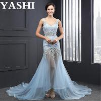 Buy cheap V-Neck Appliques Lace up Evening Dress (SL2007) from wholesalers