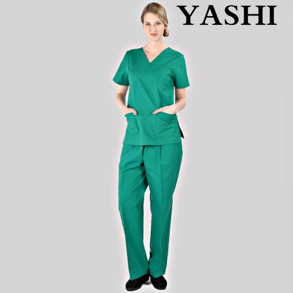 Quality Simple Medical&Hospital Scrubs/Uniforms/Apparels Sets for Doctor/Nurse for sale