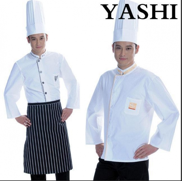 Quality Uniform New Style White Chef Uniform for Hotel and Restaurant for sale