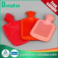 Buy cheap Hot Water Bottle Rubber Hot Water Bag Large Size Red product