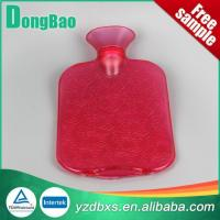 China Hot Water Bottle Transparent PVC Hot Water Bottle on sale