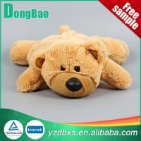 China Colorful Plush Animal Hot Water Bottle Cover on sale