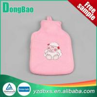 China Animal Print Cashmere Hot Water Bottle Cover on sale