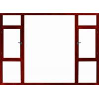 Buy cheap Window High-end handmade aluminum office window from wholesalers