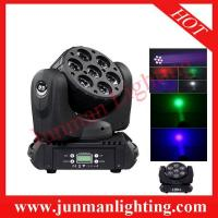 China 7*12W RGBW 4 In 1 LED Beam Moving Head Light Party Disco Light on sale