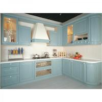 Buy cheap high quality pvc material kitchen cabinets design from wholesalers