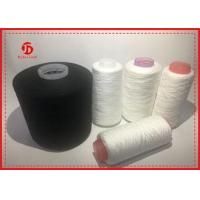 China Various Colors Dope Dyed Polyester Spun Yarn High Twist Crease Resistant on sale