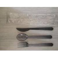 Buy cheap Airline Disposable Plastic Cutlery Set, Made Of Plastic PS product