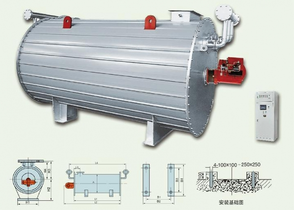 Quality Horizontal Oil (gas)-fired Heating Boiler for sale