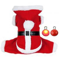 Buy cheap Adogo Puppy Doggie Christmas Suit Coat Pet Dog Santa Costume Outfit With a Christmas Gifts product