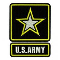 China US ARMY Logo Embroidery Design wholesale