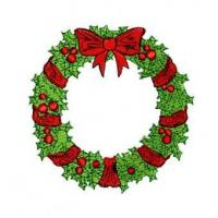 Buy cheap Christmas Wreath Embroidery Design product
