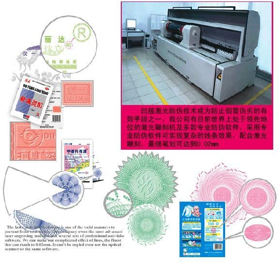 Quality Anti-counterfeiting technology for sale