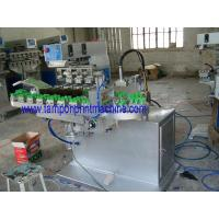 Buy cheap 4colors Bottle Caps Pad Printing Machine product
