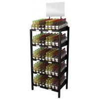 Buy cheap Title:5 tier beverage display racks from wholesalers