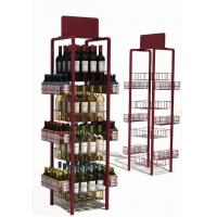 Buy cheap Title:4-sides wine display from wholesalers