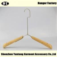 China WTW-004 Fashion wood cloth hanger for display clothes on sale