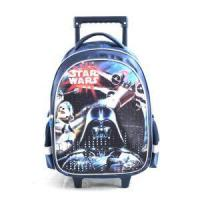 China Personalized Children's Backpacks Trolley School Bag Star Wars Luggage Rolling Backpacks For Boys on sale