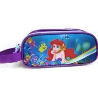 China Custom Printed Pencil Case For School Mermaid Pencil Case With Zipper Pouch on sale