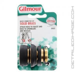 Quality Washing & Drying Gilmour Brass Quick Connector Set for sale