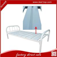 Buy cheap Wholesale New Design Bed Base Metal Single Bed For Labor Or Home Use product