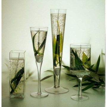 Glass Jelly Candle Decorative Candle 50540615