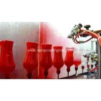 Buy cheap Automatic spraying line of glass bottles from wholesalers