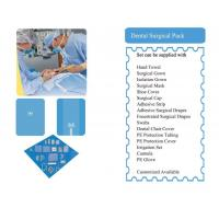 Buy cheap Non-woven Surgical Packs Dental Surgical Pack product