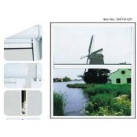 China Aluminum Retractable Roller/rolling/roll Up Fly Screen Window on sale