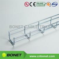 China 50mm Wide 50mm Deep 2X2 UL CE Certified EZ Zinc Plated Wire Mesh Cable Basket Tray wholesale