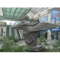 Buy cheap External Mall Decoration Bronze Mother and Child Figure Statue product