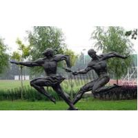 Buy cheap Outer Exercising Bronze Casting Figure Statues for School Decoration product