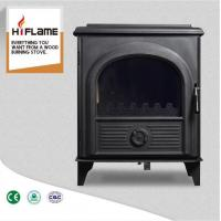 China HiFlame New Design Steel Freestanding Real Fire Wood Burning Stove AL910 on sale