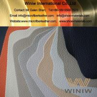 Buy cheap High Quality Synthetic Microfiber Leather Fabric Upholstery Material product