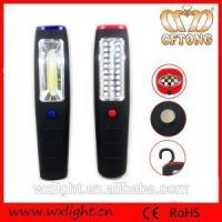 China Emergency Magnetic Portable Waterproof 30+7 LED Magnet ABS Plastic 3W COB LED Work Flashlight wholesale