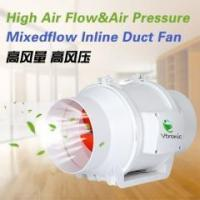 Buy cheap Mixed Flow Inline Series W100-01 Mixed Flow Inline Duct Fan from wholesalers