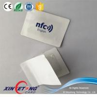 Buy cheap NFC Tag Ideas 3M adhesive Anti-metal NFC Sticker NFC APP Ntag216 full color NFC Sticker from wholesalers