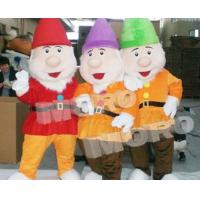 Buy cheap 7 Dwarf Disney Cartoon Figure Plush Costume from wholesalers