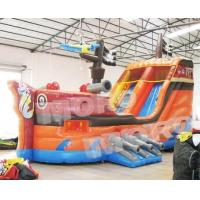 Buy cheap Inflatable Pirate Ship Obstacle Run and Rush/Inflatable Big Boat Adventure Obstacle Run from wholesalers