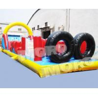 Buy cheap Inflatable Obstacle Course with Tire from wholesalers