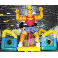 Buy cheap Giant Ironman Extreme Obstacle Course Rush/Extreme Inflatable Obstacle Course Rush 3 Sections from wholesalers