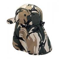 Buy cheap Mega Cap 9020A-Camouflage Twill Cap W/Flap from wholesalers