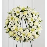 Buy cheap Sympathy Flowers The FTD Treasured Tribute Wreath from wholesalers