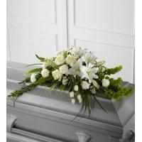 Buy cheap Sympathy Flowers The FTD Resurrection Casket Spray from wholesalers
