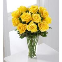 Buy cheap Sympathy Flowers The FTD Yellow Rose Bouquet from wholesalers