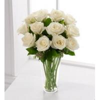 Buy cheap Sympathy Flowers The FTD White Rose Bouquet from wholesalers