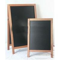 Buy cheap Outdoor Sandwich Wood A-Board With Double Sides Black Board product