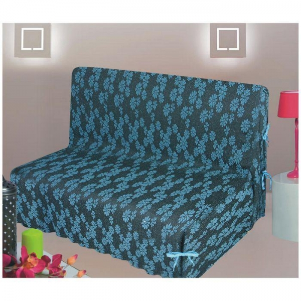 Spandex Fabric Sofa Cover With Filling And Quilting 49895328